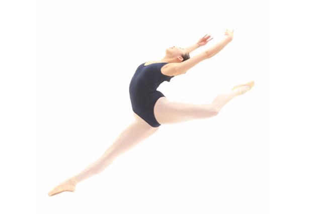 バレエダンサーのオーディション写真
