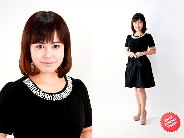 女優 カタログ宣材写真