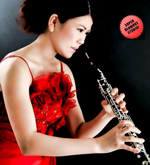 音楽家 オーボエ奏者 プロフィール写真