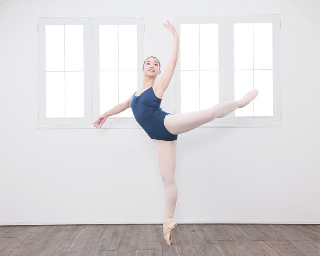 バレエ オーディション写真