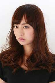 女優顔の宣材写真